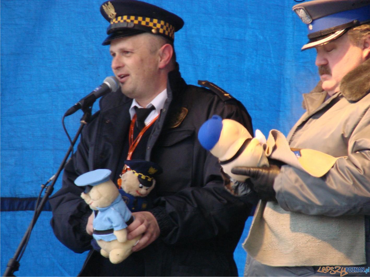 licytacja straży miejskiej i policji na Palcu Mickiewicza  Foto: