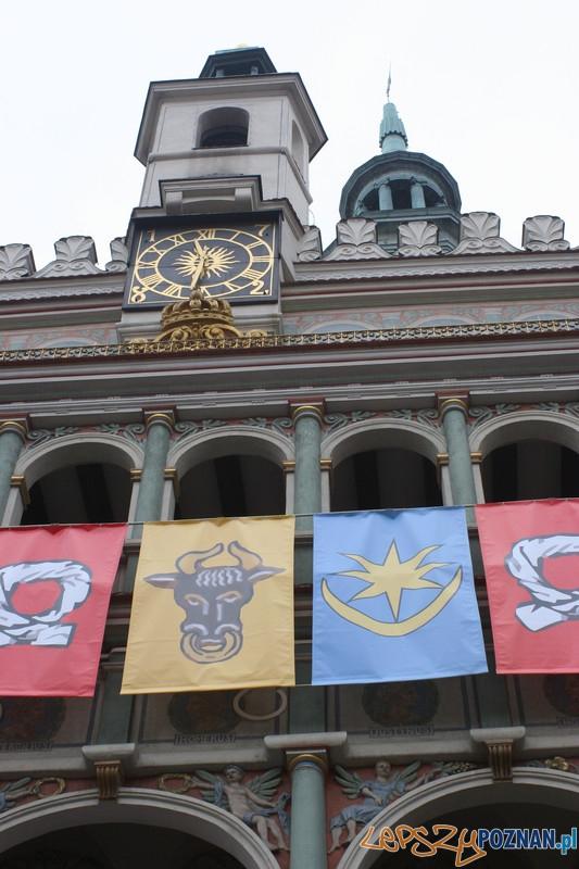 XVII Kaziuk w Poznaniu – chorągwie wielkopolskie biorące udział w bitwie pod Grunwaldem  Foto: