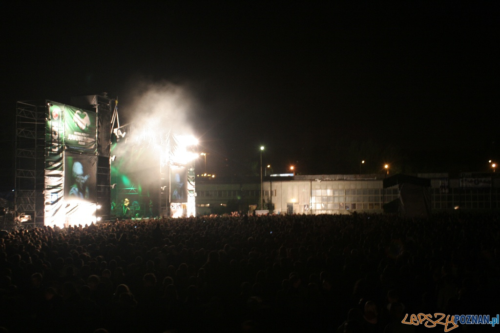 Juwenalia 2010 w Poznaniu - koncert dzień 3 - 22.05.2010 r.  Foto: Paweł Rychter