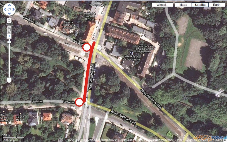 googlemaps - nad wierzbakiem 22 V  Foto: