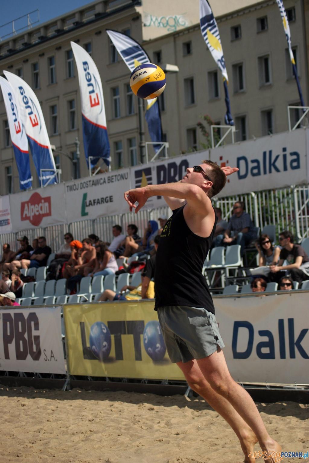 Plaża Wolności na Placu Wolności - 2010.06.04 r.  Foto: Paweł Rychter