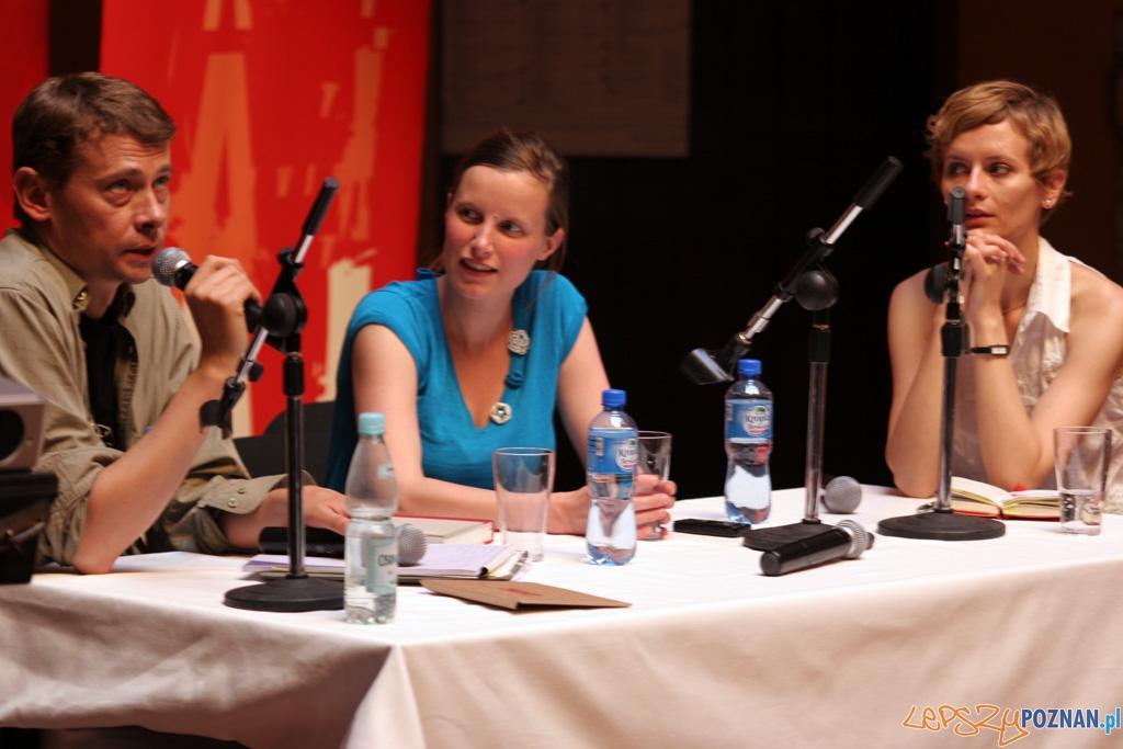 Festiwal Malta - dzień czwarty 28.06.2010 r. - Spotkanie z zespołem Berlin  Foto: Piotr Rychter