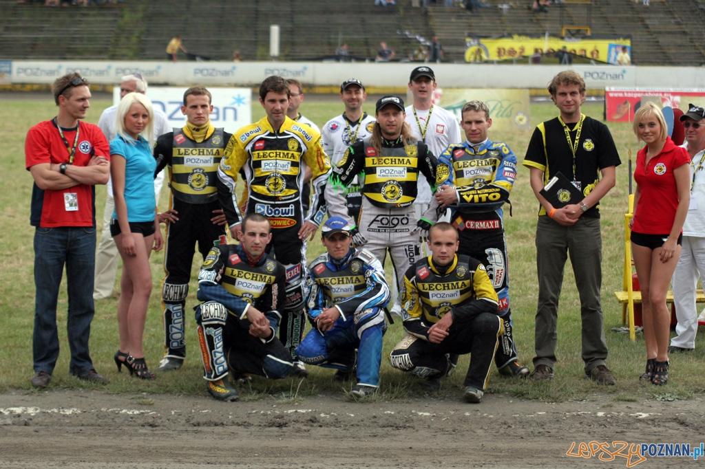 PSŻ Lechma Poznań - Speedway Miszkolc 61:29 18.06.2010 r.  Foto: Piotr Rychter