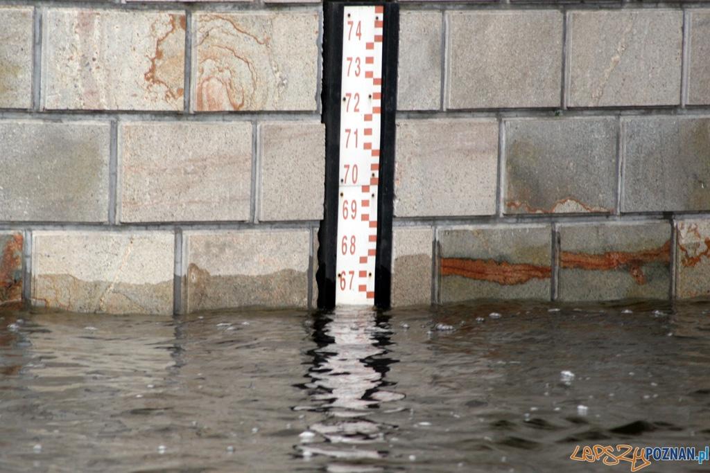 rekordowy poziom Warty - wodowskaz - foto archiwum  Foto: lepszyPOZNAN.pl/Piotr Rychter