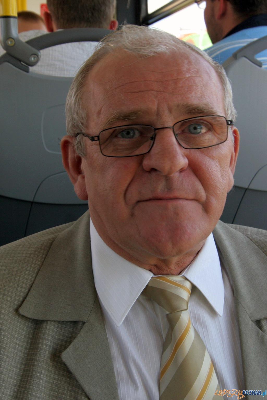 Krzysztof Książyk, dyrektor przewozów autobusowych MPK w Poznaniu  Foto: Paweł Rychter