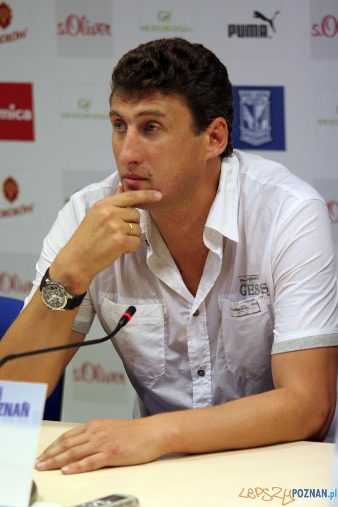 CChadadze Kachaber - trener Inter Baku  Foto: Piotr Rychter