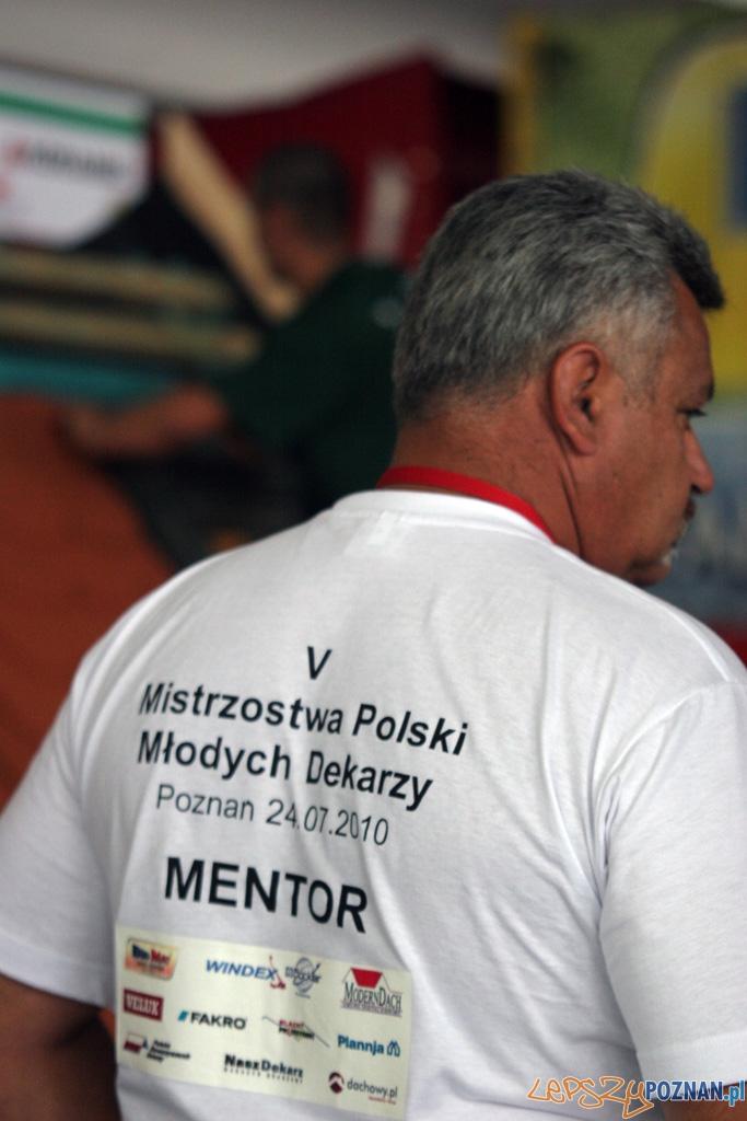 V Mistrzostwa Polski Młodych Dekarzy - Poznań 24.07.2010 r.  Foto: Piotr Rychter