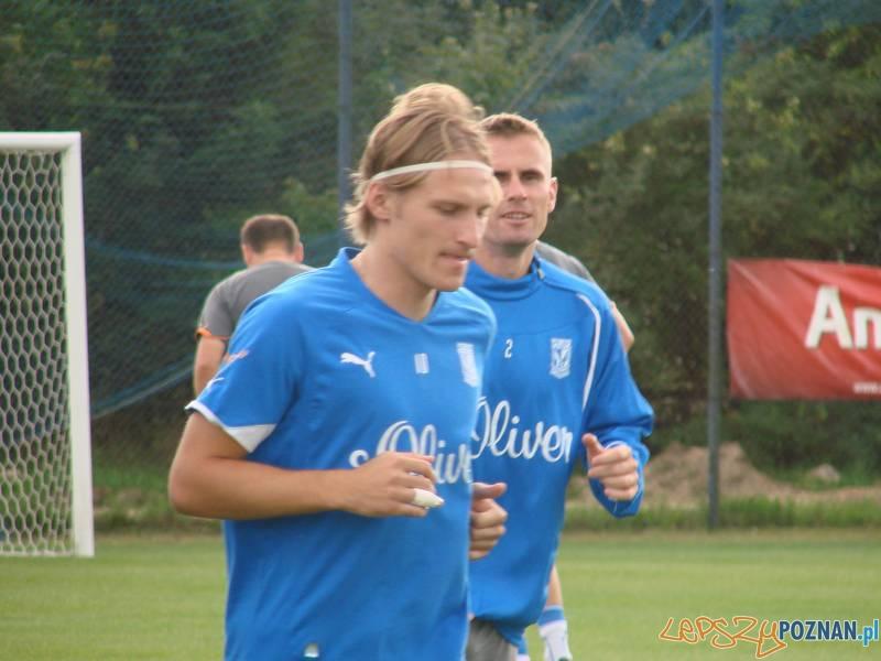 Sergei Krivets na treningu  Foto: lepszyPOZNAN.pl / ag