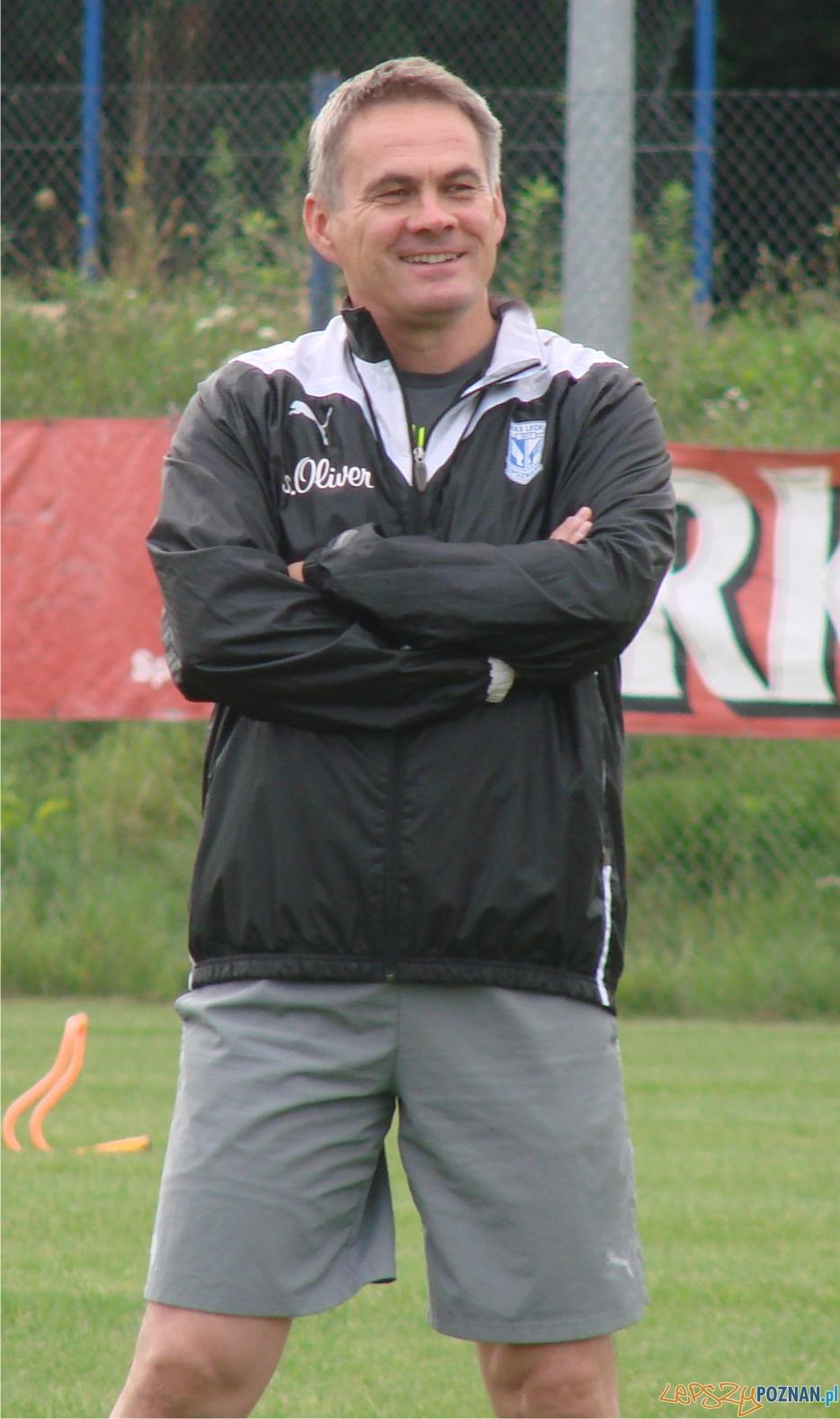 Jacek Zieliński na treningu  Foto: lepszyPOZNAN.pl / ag