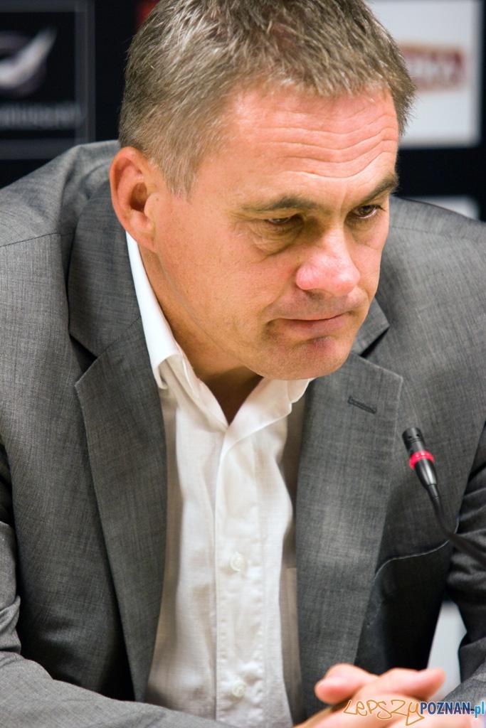 Jacek Zieliński - trener Lecha Poznań  Foto: Piotr Rychter