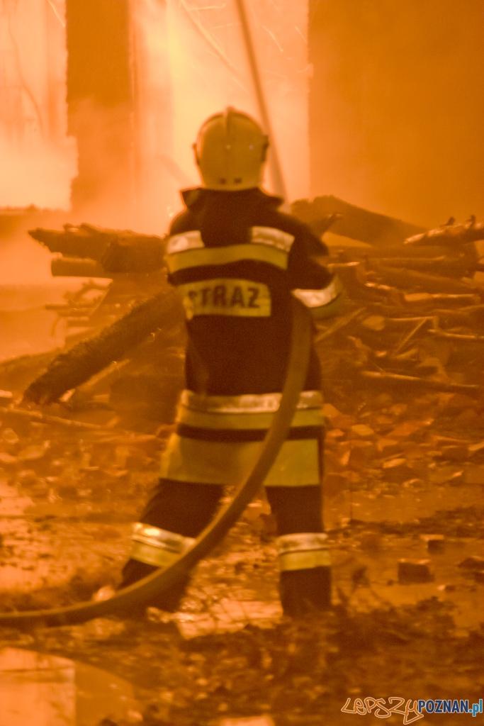 Pożar w centrum Poznania - archiwum  Foto: lepszyPOZNAN.pl / Piotr Rychter