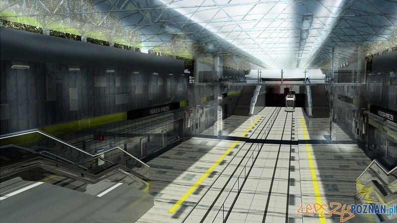 Nowa linia tramwajowa na Franowo w 2012 roku  Foto: źródło (www.i2012poznan.pl)