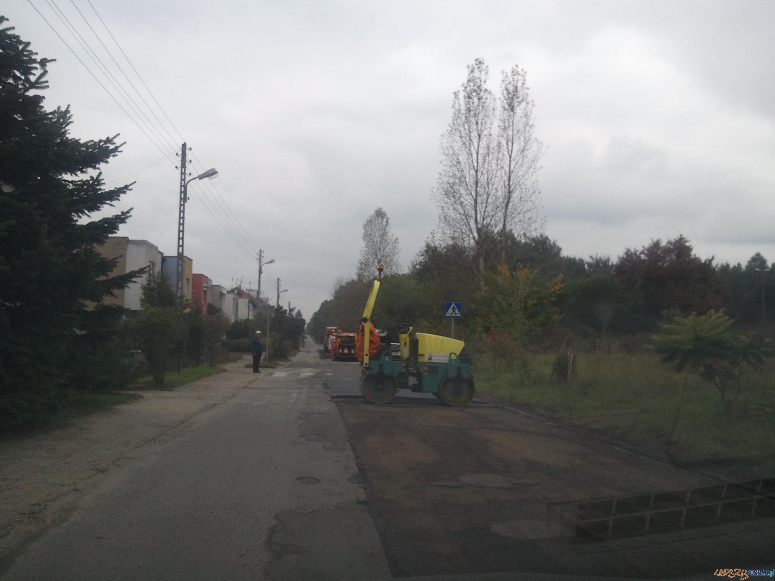 Remont na ul. Bożeny  Foto: Antoninek