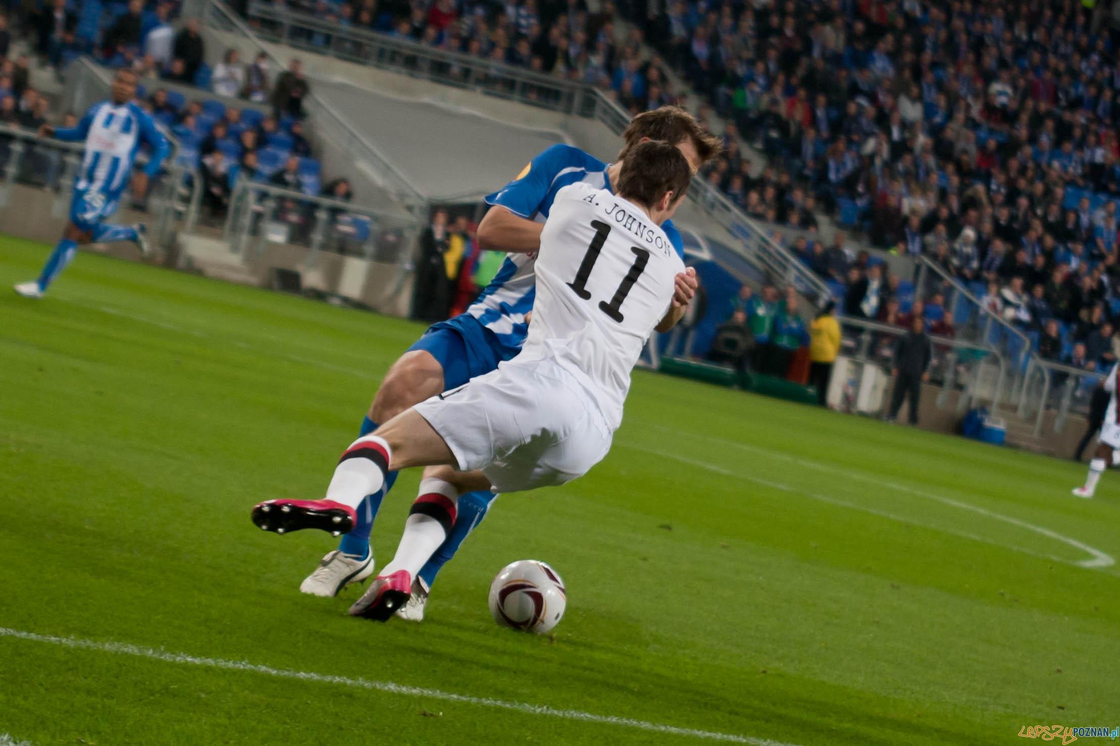 KKS Lech 3:1 Manchester City - Liga Europejska - Poznań 2010.11.04  Foto: Paweł Rychter