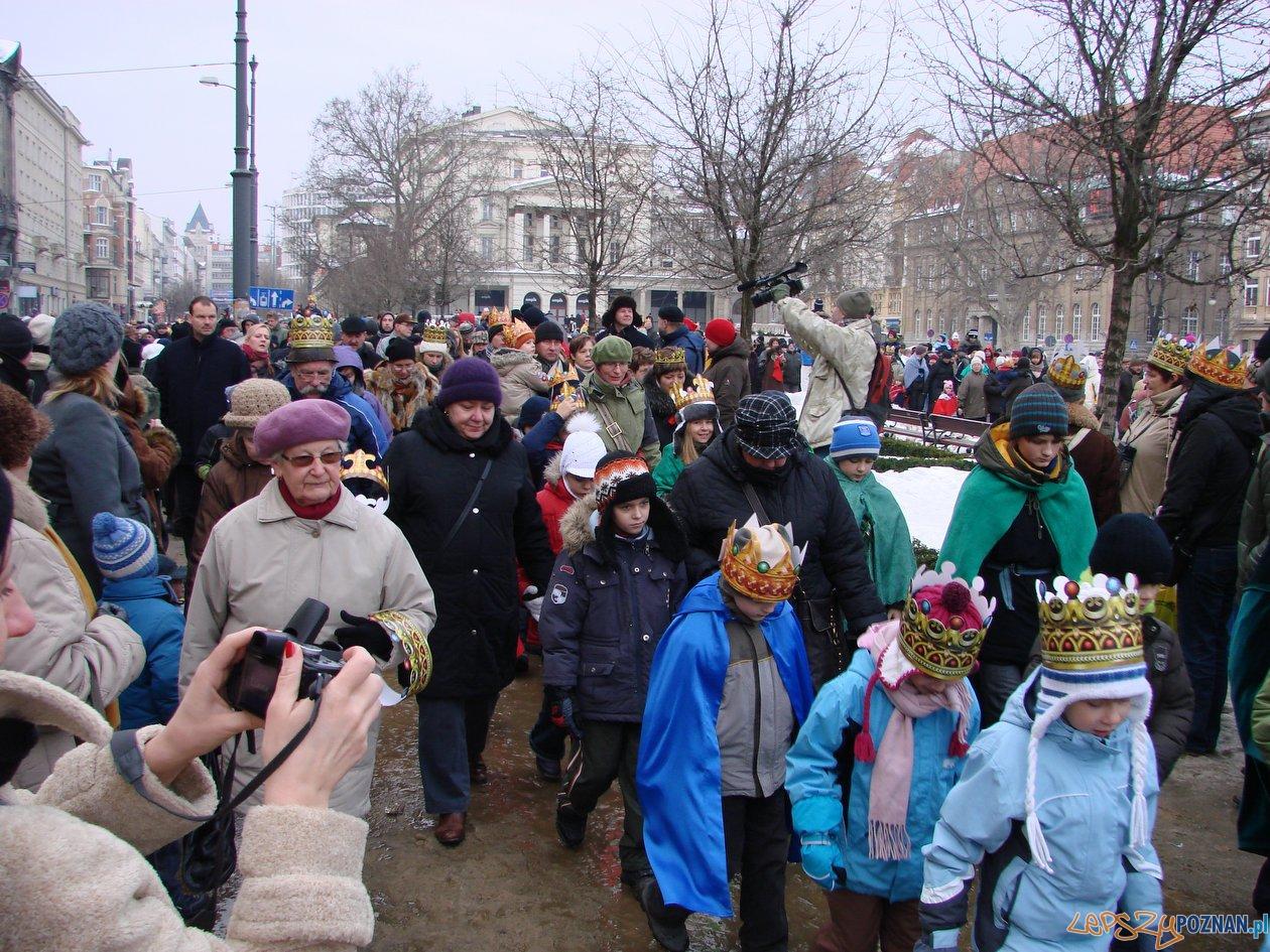 Orszak Trzech Króli w Poznaniu - 2011  Foto: lepszyPOZNAN.pl / ag