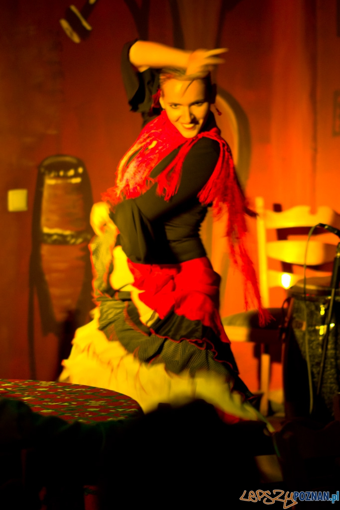 Witek Łukaszewski, Andrzej Mazurek, Angelika Bobkowska - wieczór flamenco w Dylemacie  Foto: lepszyPOZNAN.pl / Piotr Rychter