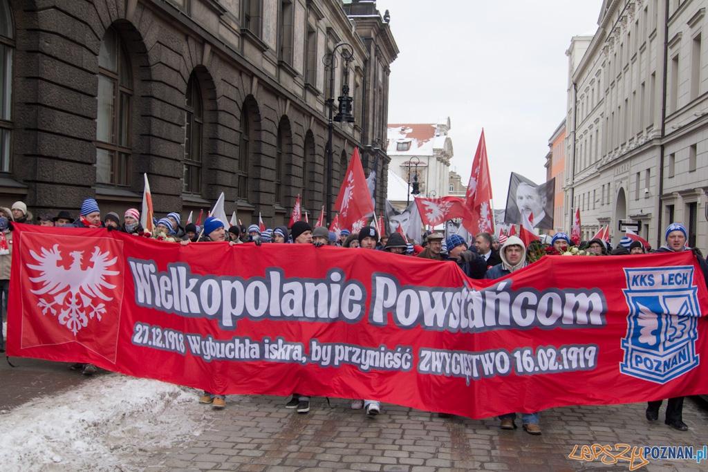 Marsz zwyciêstwa  Foto: lepszyPOZNAN.pl / Piotr Rychter