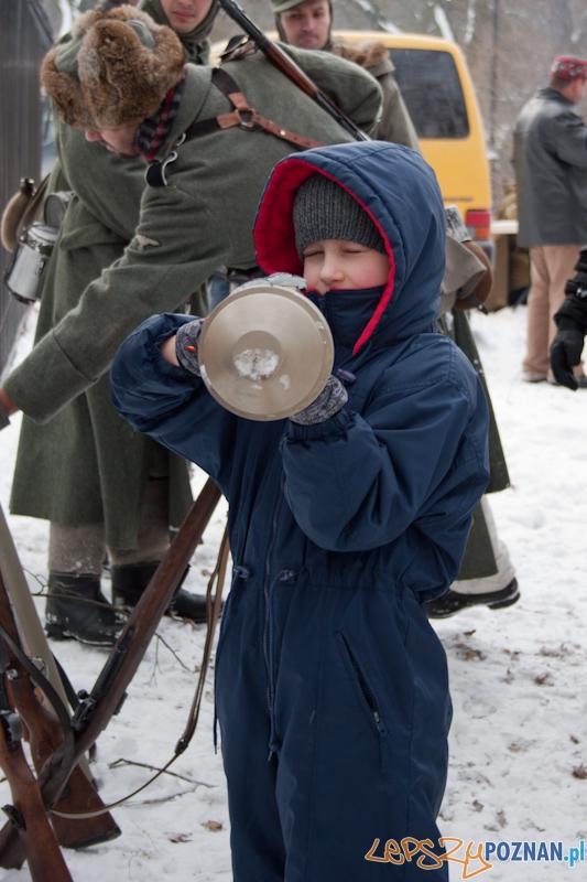 Inscenizacja walk o Poznań z 23 lutego 1945 r - Cytadela 20.02.2011 r.  Foto: LepszyPOZNAN.pl / Paweł Rychter