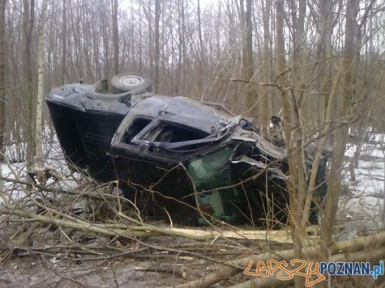 Tragiczny wypadek pod Środą Wlkp  Foto: Zbigniew Tunkiewicz