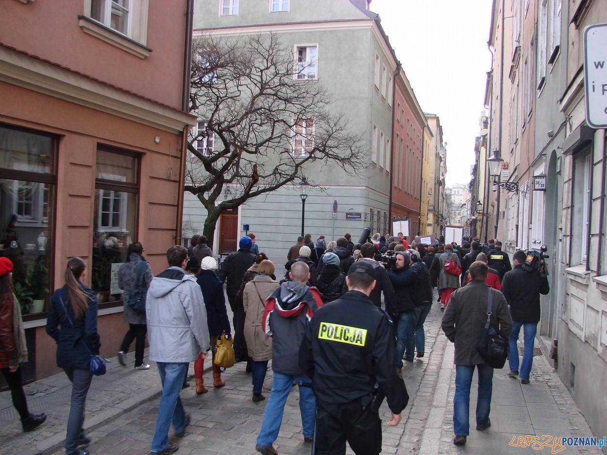 Marsz Milczenia  Foto: lepszyPOZNAN.pl / ag