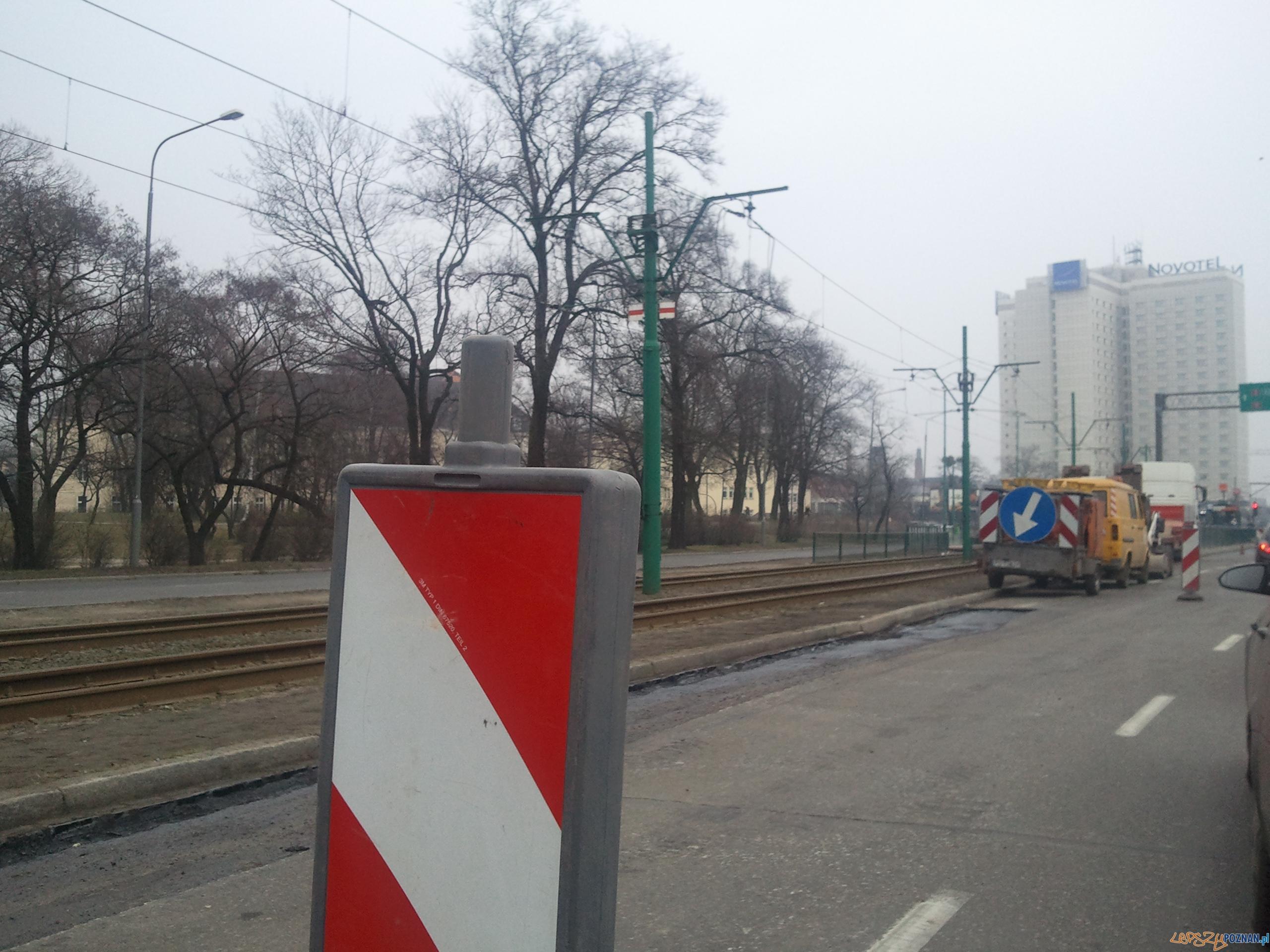 Utrudnienia przy Dworcu PKS  Foto: lepszyPOZNAN.pl / gsm