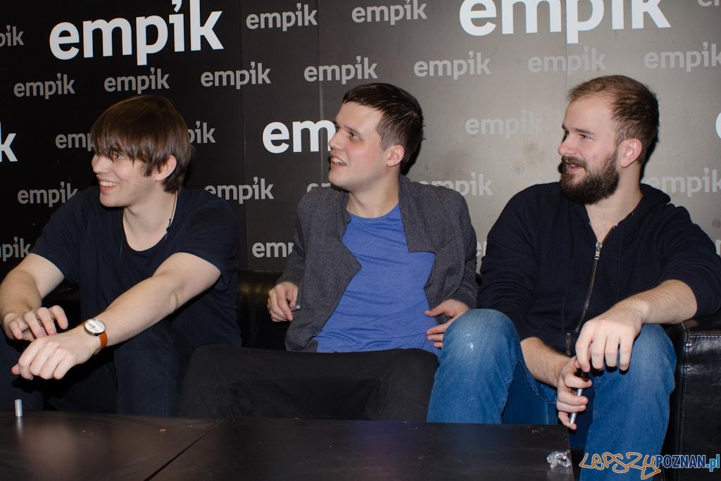 White Lies w Empiku  Foto: lepszyPOZNAN.pl / Piotr Rychter