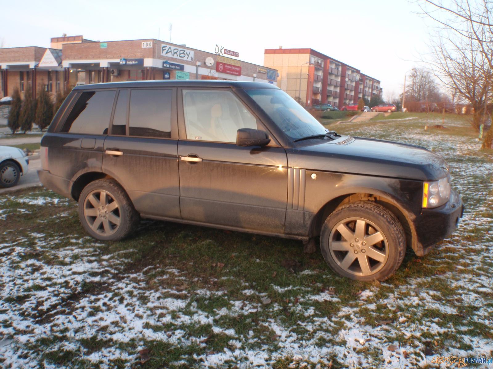 parking na trawniku  Foto: Straż Miejska