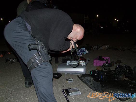 nocna akcja policji  Foto: KWP w Poznaniu