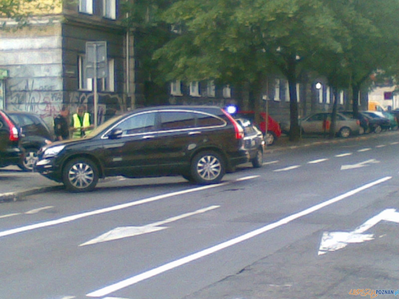 Zawalidroga na ulicy Ratajczaka  Foto: Paweł