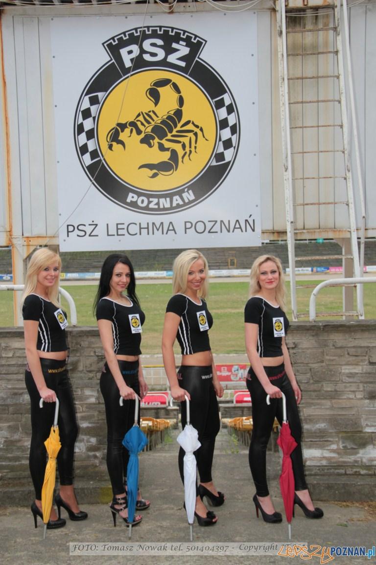 Podprowadzające PSŻ Poznań  Foto: Tomasz Nowak
