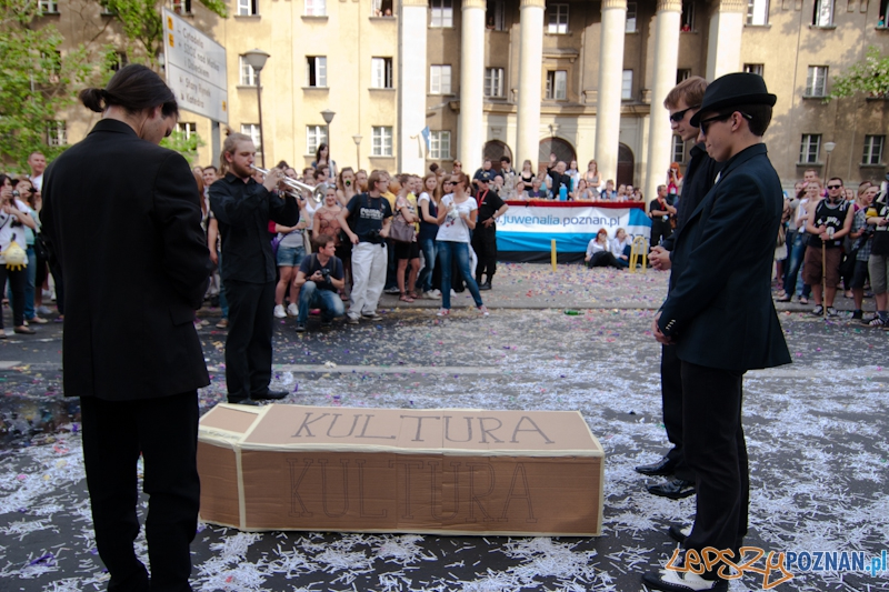 Pochód juwenaliowy - 26.05.2011 r.  Foto: LepszyPOZNAN.pl / Paweł Rychter