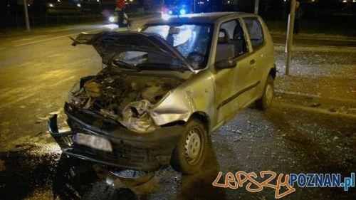Wypadek w Kórniku  Foto: KM PSP w Poznaniu