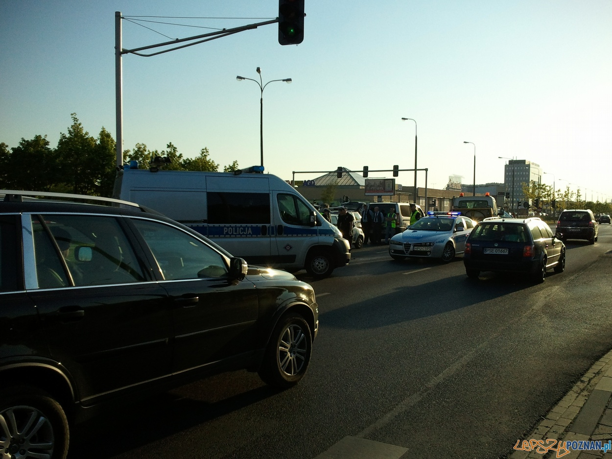 Śmiertelny wypadek na Winogradach  Foto: lepszyPOZNAN.pl / gsm