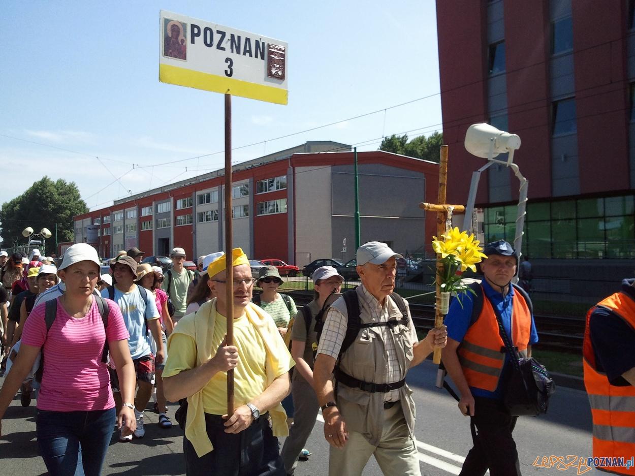 77 Piesza  Poznańska Pielgrzymka na Jasną Górę  Foto: lepszyPOZNAN.pl / gsm