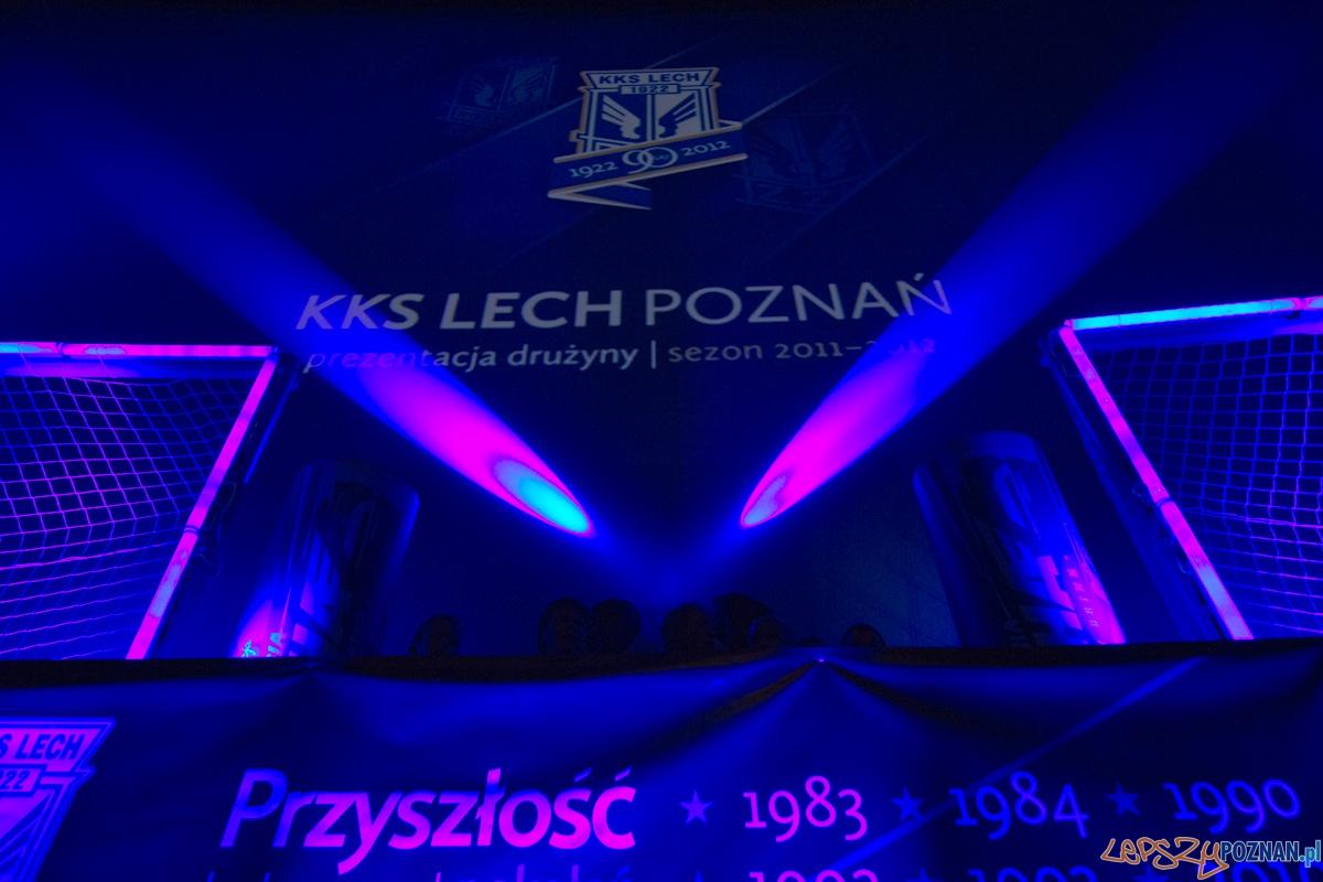 Prezentacja drużyny KKS Lech Poznań na sezon 2011/2012  Foto: lepszyPOZNAN.pl / Piotr Rychter