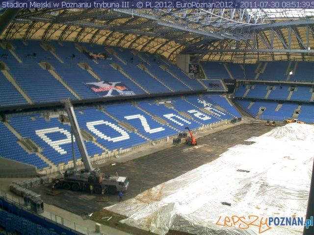 Przygotowania do Red Bull X-Fighters  Foto: Euro Poznań 2012
