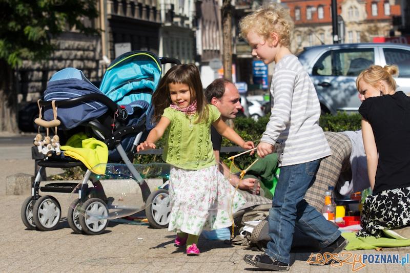 Piknik na placu Wolności  Foto: lepszyPOZNAN.pl / Piotr Rychter