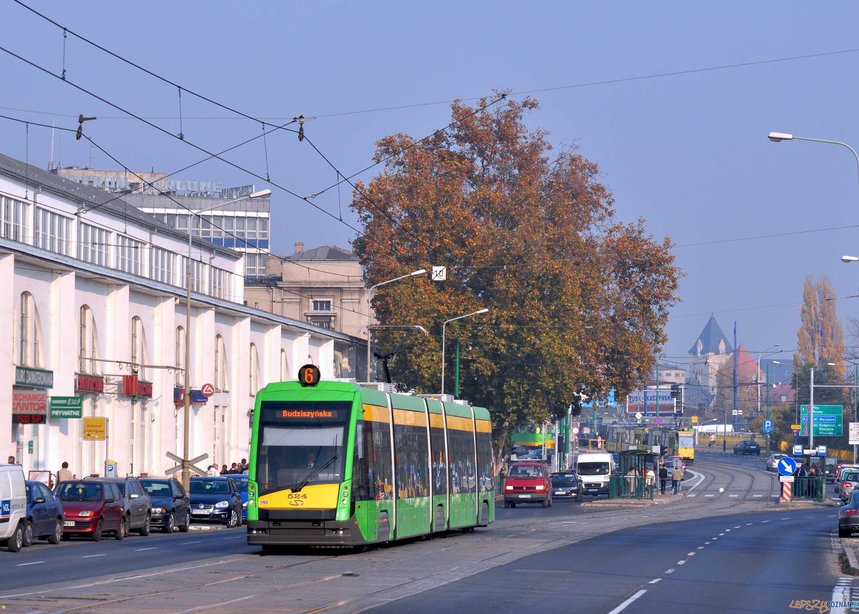 Tramino na Głogowskiej  Foto: Marcin_Ciszewski