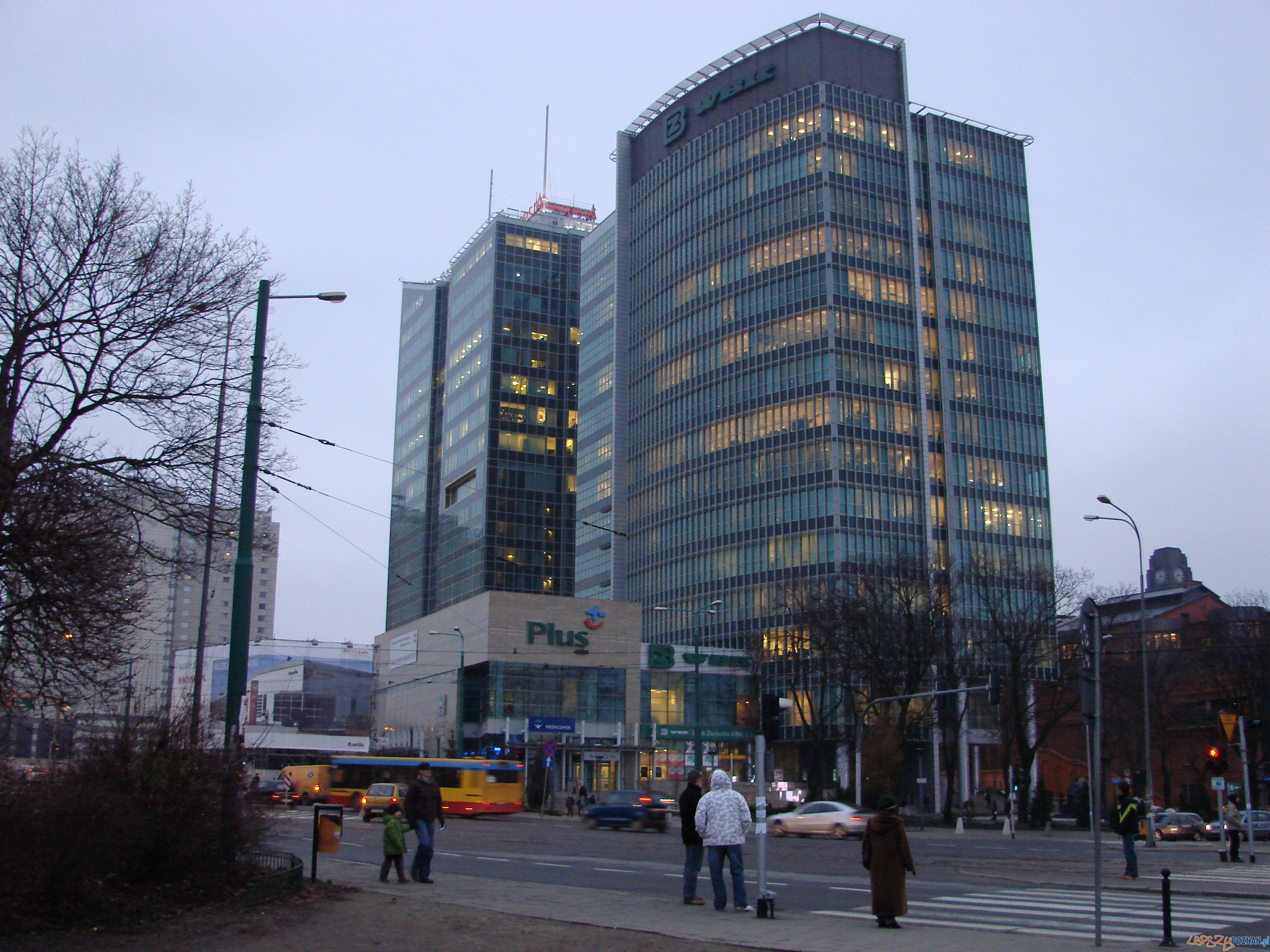 PFC oraz Andersia Tower  Foto: lepszyPOZNAN.pl / ag