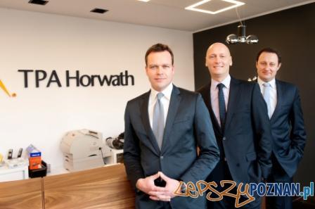 Partnerzy zarządzający TPA Horwath - od lewej: Wojciech Sztuba, Krzysztof Kaczmarek, Krzysztof Horodko  Foto: Sollus / Jacek Lisewski