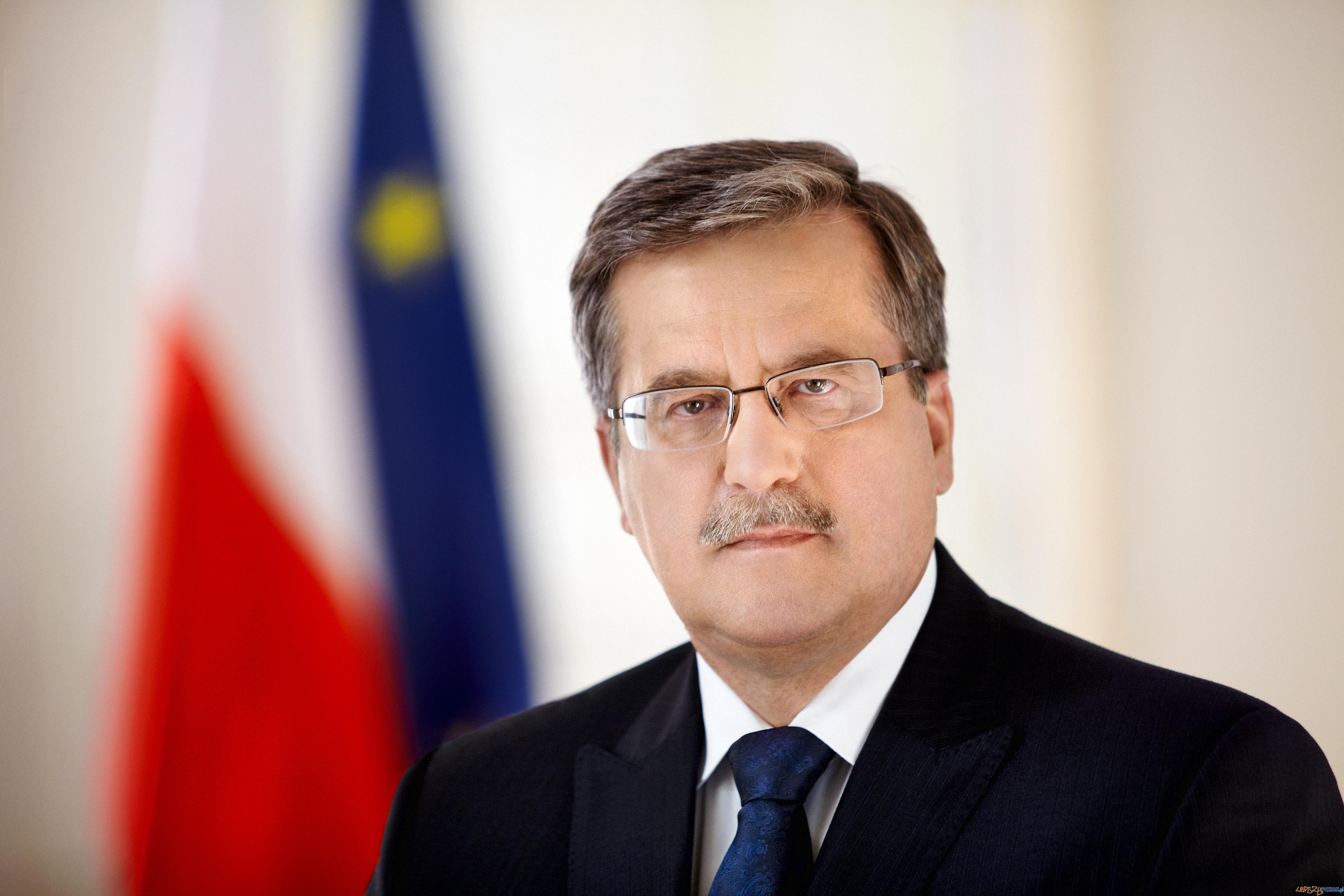 Prezydent Bronisław Komorowski  Foto: Prezydent Bronisław Komorowski