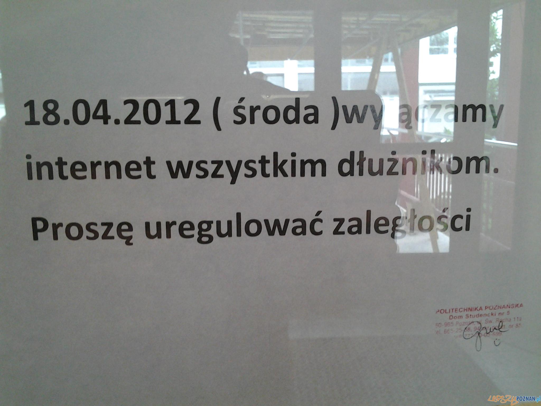 Komu odetną neta?  Foto: lepszyPOZNAN.pl / gsm