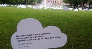 Wiersze w chmurach. Poznań Poetów 2011  Foto: Tomasz Dworek