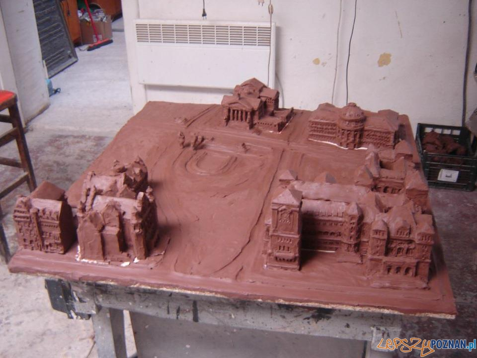 Kolejna makieta dla niewidowmych - plastelinowy model  Foto: Rada Osiedla Stare Miasto