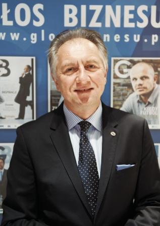 Andrzej Głowacki - prezes zarządu DGA SA, przedstawiciel WKK  Foto: Sollus / Jacek Lisewski