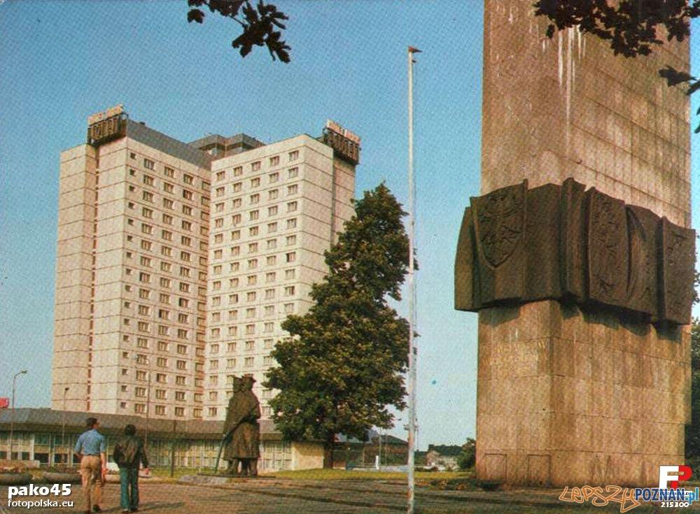 Hotel Poznań, koniec lat 70-tych  Foto: fotopolska.eu