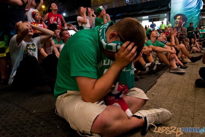 Strefa Kibica podczas meczu Włochy - Irlandia - Poznań 18.06.2012 r.  Foto: LepszyPOZNAN.pl / Paweł Rychter