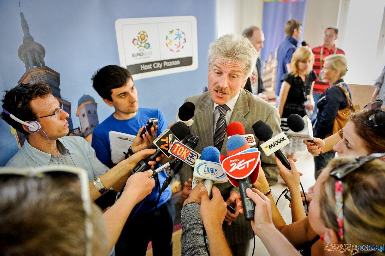Ryszard Grobelny - konferencja prasowa  Foto: