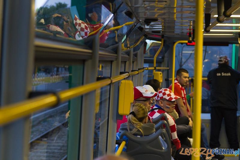 Mecz Chorwacja - Włochy  Foto: lepszyPOZNAN.pl / Piotr Rychter