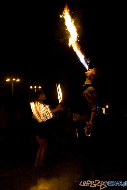 """Widowisko """"Ogień, para, dźwięk"""" na 40-lecie Maltanki - Poznań 21.07.2012 r.  Foto: Ewelina Gutowska"""